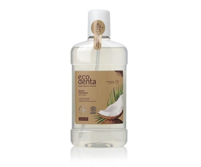 ECODENTA COSMOS Miętowy i kokosowy płyn do płukania jamy ustnej 500ml